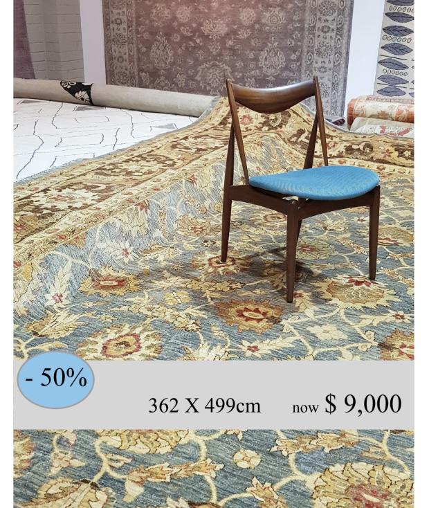 CLASSIC  362X499cm $18,000 less 50%