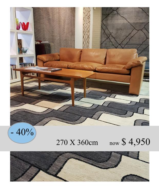 CASCADE 270X360cm $8,260 less 40%